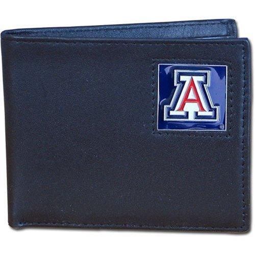 Wildcats College Leather (NCAA Arizona Wildcats Leather Bi-fold Wallet)