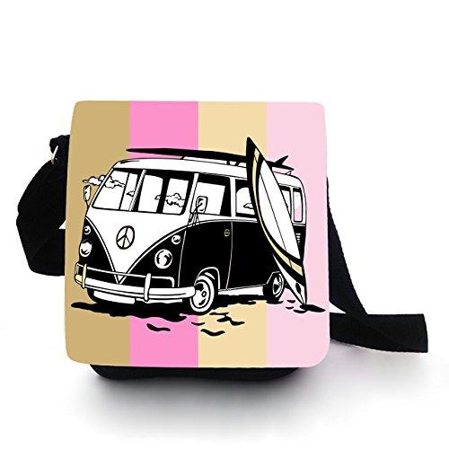 kindertasche Borsa, con Bus Surf Rosa KT84