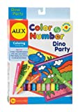Color By Number - Dino Party