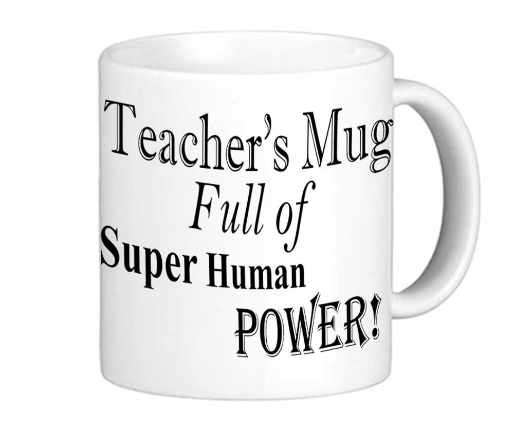 taza para maestros, profesores y docentes