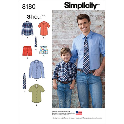 Simplicity 8180 Men and Boy