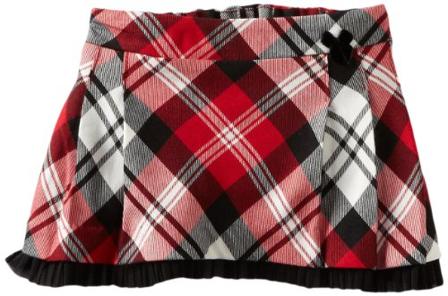 Hartstrings Baby-Girls Newborn Pleated Plaid Skort