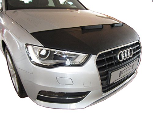 HOOD BRA PROTECTOR DEL CAPO Audi A3 8V SINCE 2012 Bonnet Bra STONEGUARD PROTECTOR TUNING
