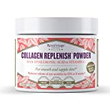 Product review for Reserveage Nutrition - Collagen Replenish Powder with Hyaluronic Acid and Collagen Peptides to Support Youthful Skin, Non-GMO, and Gluten Free, 30 Servings (2.75 oz)
