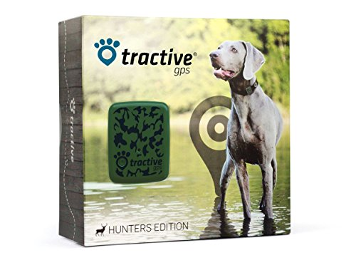 Tractive GPS Pet Tracker, Camouflage, One Size