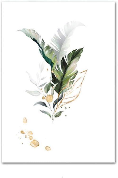 8.3X11.8In 21X30Cm ZONGZ Leinwandbild,Eleganter Blauer Pfau Tierlandschaft Poster Foto Nordischen Stil Vertikal Ungerahmte Leinwand Wandkunst Bild F/ür Wohnzimmer Schlafzimmer Wohnkultur