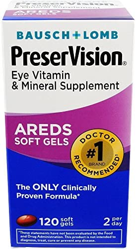 Bausch Lomb Preservision Areds Soft