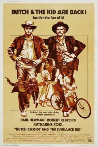 (Butch Cassidy And The Sundance Kid Movie Poster #01)