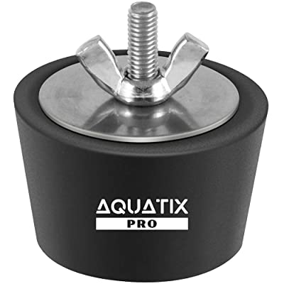 "Aquatix Pro Pool Winterizing Plug Premium 1.5"" to 2"" Swimming Pool Winter Expansion Plugs with SS Screw, Stainless Steel Bolts, Heavy Duty Rubber, Protect Your Equipment Today! : Garden & Outdoor"