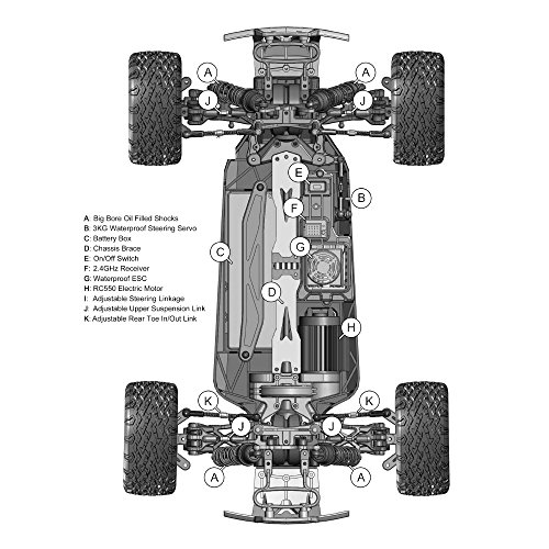 Blackout XTE 1/10 Scale Electric Monster Truck by Redcat Racing (Image #10)