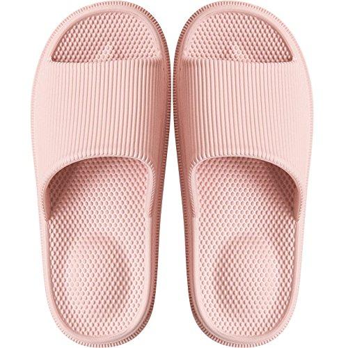 bath una massaggio da 35 cool rosa in e stagioni morbido trascinare 36 quattro le antiscivolo rimanere ciabatte donne e nbsp;Le estate uomini house bagno a fondo per coppie Fankou gli camera pnCO8O