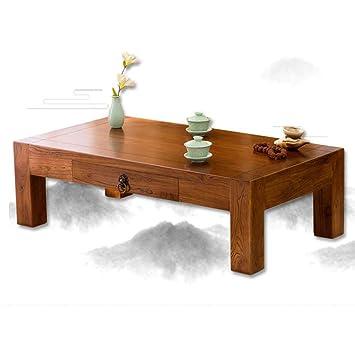 Tavolino Per Salotto Legno.Tavolino Vecchio Tavolo Da Te In Olmo Legno Massello Tatami
