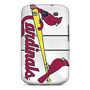 For Galaxy S3 Premium Tpu Case Cover St. Louis Cardinals Protective Case