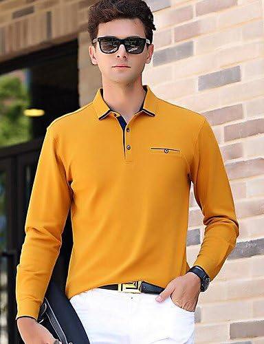 LZZNA Hombre Vintage Vintage Polo Un Color: Amazon.es: Deportes y ...