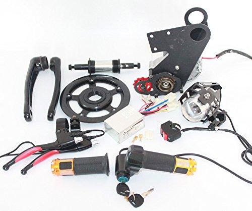 Electric Bike Motor Kit Price: New Mid Electric Motorized E-Bike Conversion Kit 24V 250W
