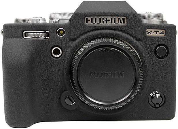 Muziri Kinokoo Silikonhülle Für Fuji X T4 Schutzhülle Kamera