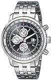 August Steiner Exclusive Men's AS8162SSB Swiss Quartz Silver Watch