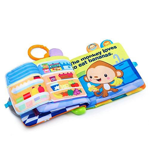 51IWKFSzXeL - VTech Peek & Play Baby Book Toy