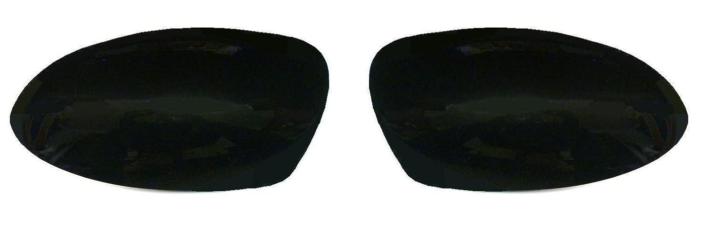 Focus Mk1 1998-2005 Door Wing Mirror Cover Black Pair Left & Right