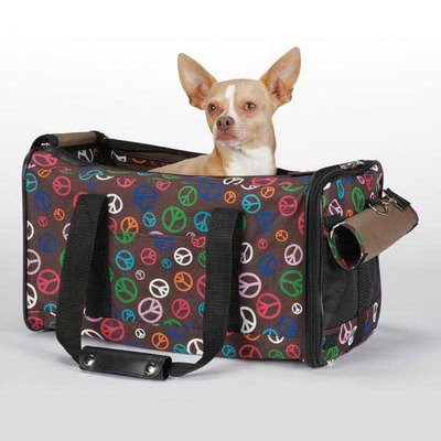 Peace Out Carrier (East Pet Carrier Side Collection)