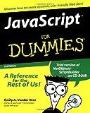 JavaScript for Dummies, Emily A. Vander Veer, 0764506331