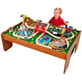 KidKraft 17836 Ride Around Train Set and Table