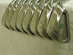 Amazon.com : Ping Eye 2 Golf Set Irons 3-PW Black Dot Eye2 Superb Condition : Golf Club Iron