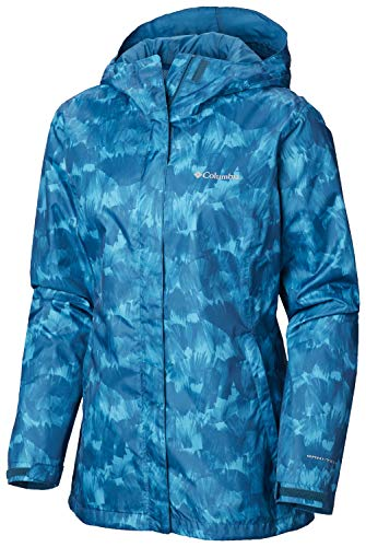 Columbia Women's Arcadia Jacket, Siberia Quartz Print X-Large