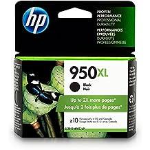 HP CN045AN#140 950XL Black Ink Cartridge, High Yield (CN045AN) for Officejet Pro 251, 276, 8100, 8600, 8610, 8620, 8625, 8630