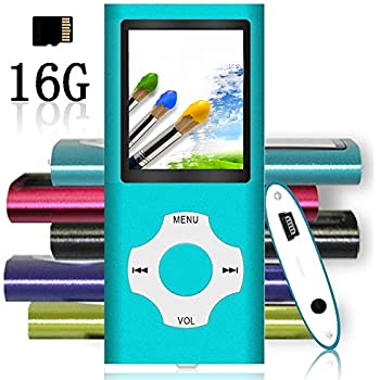 Amazon.com: Ultrave MP3/MP4 Player with 16G SD Card ...