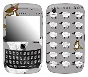 MusicSkins, MS-FOB30211, Fall Out Boy - Sheep, BlackBerry Curve 3G (9300/9330), Skin by supermalls