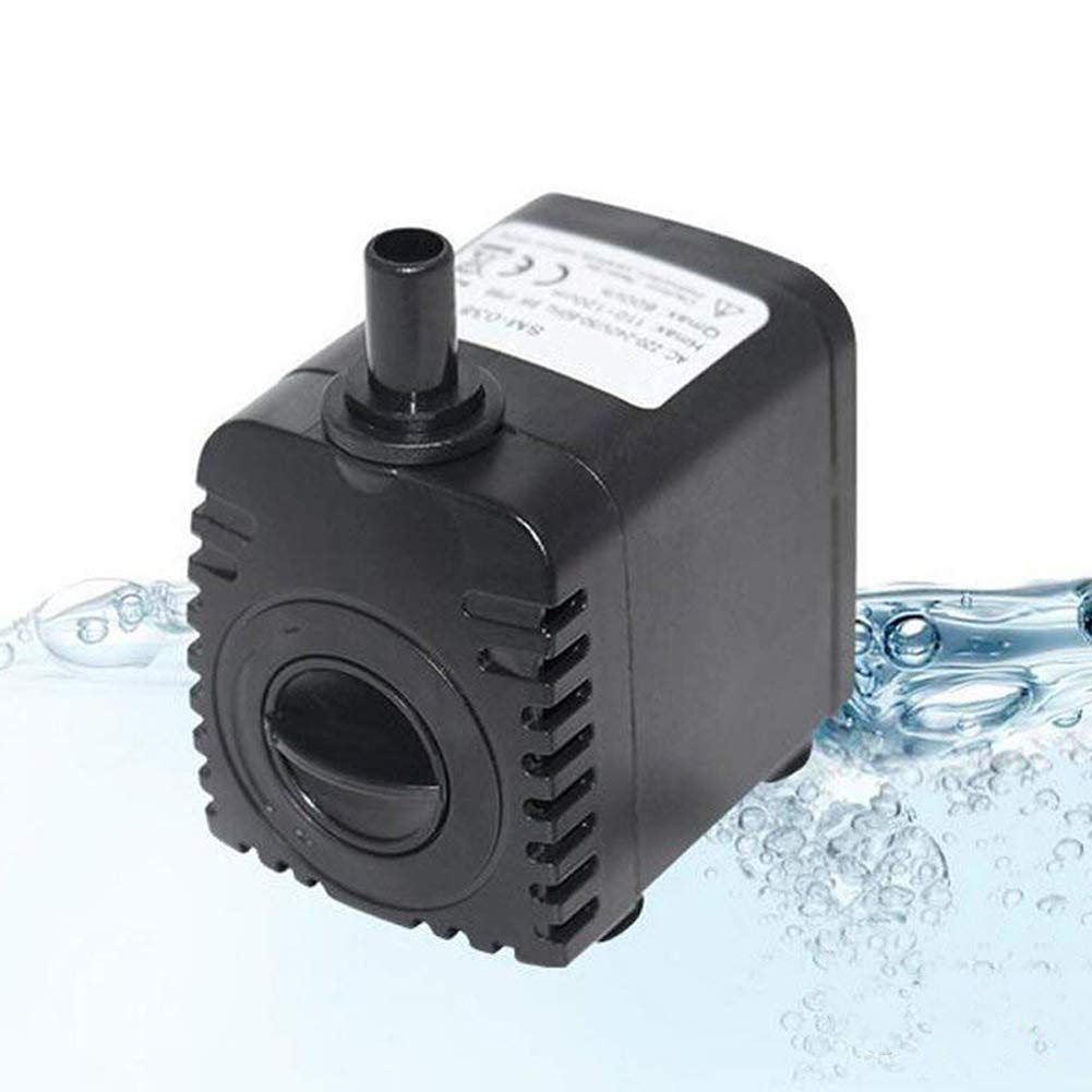 8W Submersible Water Pump for Aquarium Tabletop Fountains Pond Water Gardens