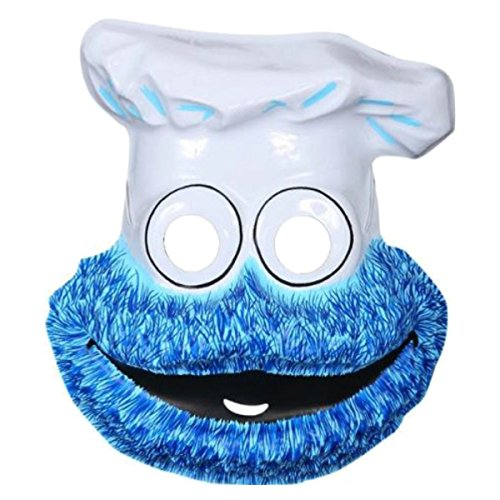 Cookie Monster Mask Costume Mask Kids The Muppets Halloween (Cute Cookie Ideas For Halloween)