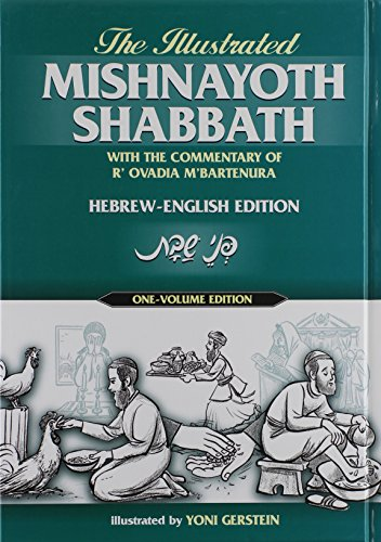 The Illustrated Mishnayoth Shabbath Mishnayos Shabbos with The Commentary of R' Ovadia M'Bartinura