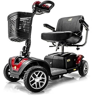 BUZZAROUND EX Extreme 4-Wheel Heavy Duty Long Range Travel Scooter w/ 3 Year In Home Service Plan