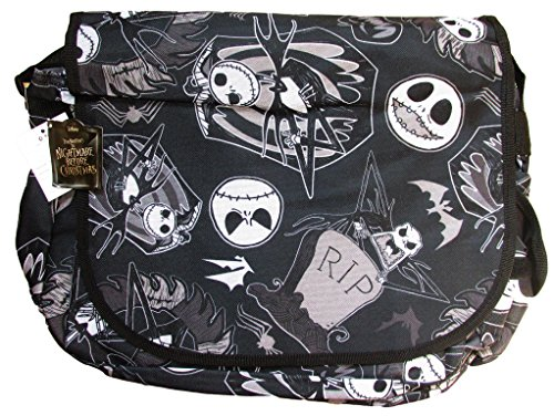 Disney Nightmare Before Christmas Jack Skellington Messenger Bag (Black) Disney Messenger