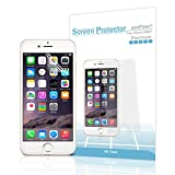 Electronics : iPhone 8 7 6S 6 Screen Protector HD Clear for iPhone 8 7 6 6S 4.7 inch 2017 2016 2015 (3-Pack)