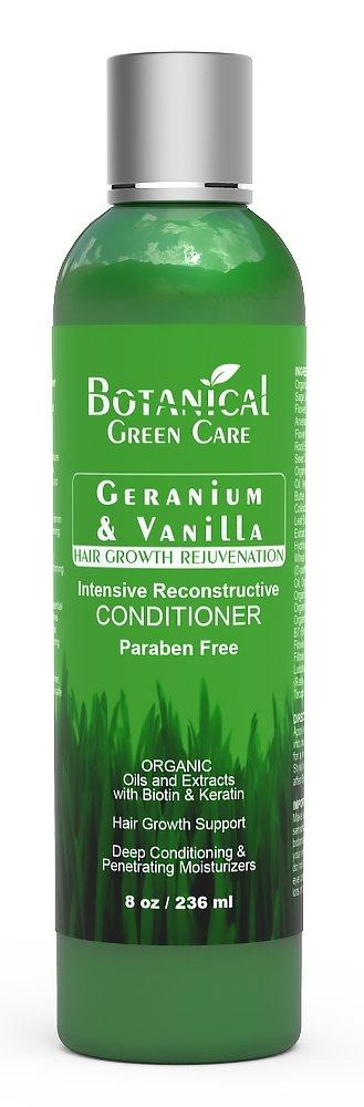 "Hair Loss Prevention Therapy Premium OrganicDeep Moisturizing & Intensive Reconstructive Conditioner""Geranium & Vanilla"""