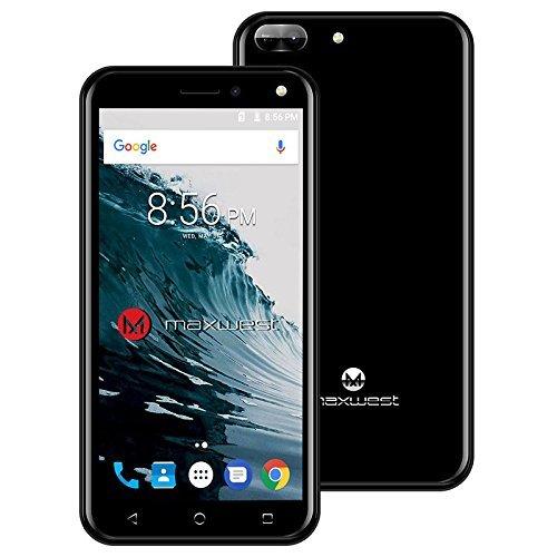 Unlocked Smartphone, Maxwest Nitro 5N - Black - NITRO5N