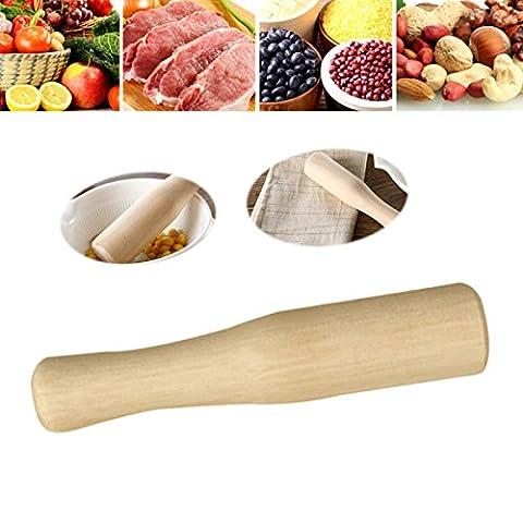 BESTONZON Wooden Muddler Cocktail Muddler Unvarnished Food Grinding Rod for Professional Bartender and Home Use, Mix and…
