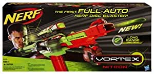 Nerf Vortex Nitron Blaster (Age: 8 years and up) (The Centerfire Tech electronic scope features pulsing targeting lights to help you center your aim. Use this scope for an accurate shot every time)