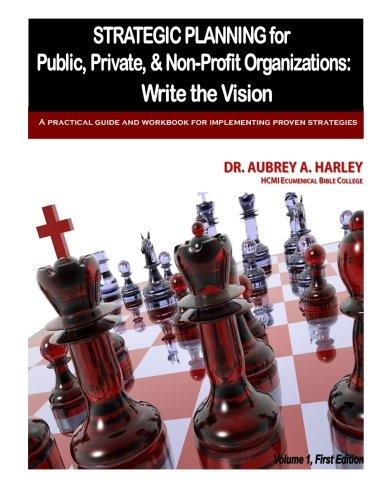 Strategic Planning for Public, Private, & Non-Profit Organizations