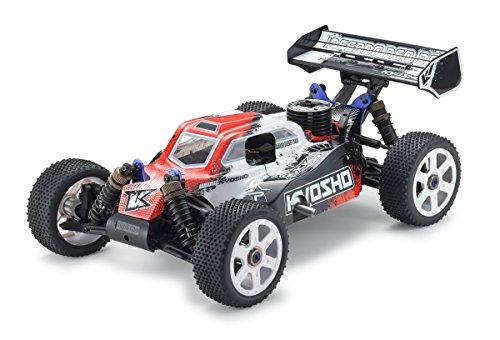8 Scale Nitro Buggy (Kyosho Inferno Neo 2.0 RC Nitro Buggy (1:8 Scale), Red)