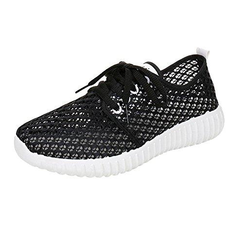 Baskets Chaussures de Respirant 5 EU Noir GongzhuMM de Femmes 36 athlétique Course Sport Chaussures 39 Gym de Chaussures Multisports Fitness Sneakers YqxI8x6F