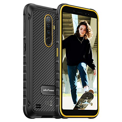Rugged Smartphones SIM Free Unlocked, Ulefone Armor X8 Mobile Phone, 4GB + 64GB, 5.7 inch Waterproof Screen, 13MP Camera…