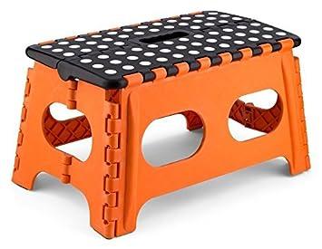 EXTRA WIDE FOLDING STEP STOOL  sc 1 st  Amazon UK & EXTRA WIDE FOLDING STEP STOOL: Amazon.co.uk: DIY u0026 Tools islam-shia.org