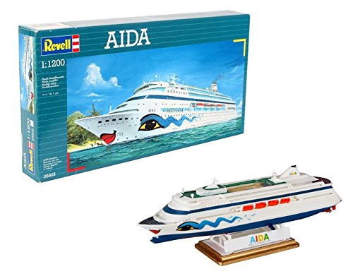 Revell 05805 16.1 cm AIDA Model Kit