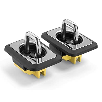 Bull Ring 4003 SS Universal Retractable Truck Tie Downs Direct From Factory 1-Pair: Automotive