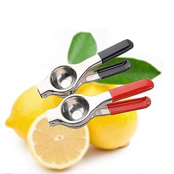 Exprimidor manual de limones para limones y limas, exprimidor de limón y limón, exprimidor