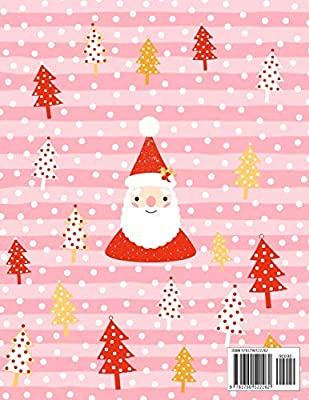 Journal to Keep Stories and Pictures From Each Year Gathered in One Place with Space for Photos or Sketches and Text Christmas Memory Book Cute Santa Claus Cover Design